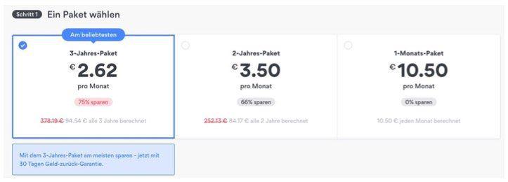 Geht wieder: NordVPN 3 Jahres Account für einmalig 94,54€ (2,62€ pro Monat)