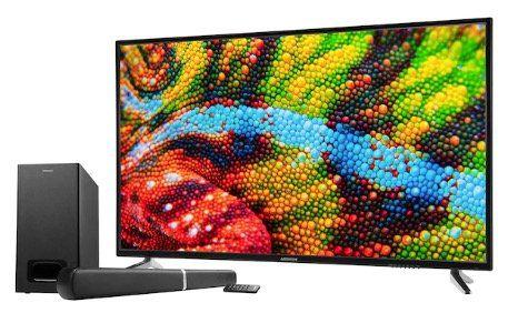 Medion P15521   55 Zoll UHD Fernseher + 2.1 TV Soundbar E64126 für 329,90€ (statt 450€)