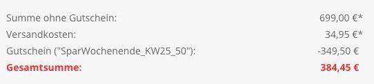 Knaller? Comfee SBS 490 MX Side by Side Kombi mit NoFrost für 384,45€ (statt 740€)