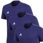 3er Pack adidas Core 18 Tee Shirts für 27,95€ (statt 37€)
