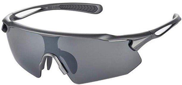 Snowledge polarisierte Sportbrille für Herren und Damen mit UV400 Schutz und Brillenetui für 11,50€ (statt 23€)