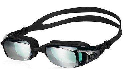 Snowledge Unisex Schwimmbrille mit UV Schutz, Nasenklammern und Ohrenstöpselsets für 8€ (statt 16€)