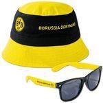 BVB Fan-Set mit Fischerhut und Sonnenbrille für 9,99€