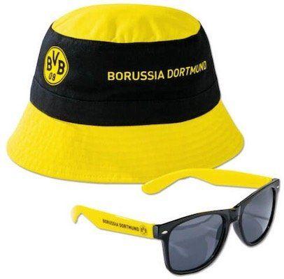 BVB Fan Set mit Fischerhut und Sonnenbrille für 9,99€