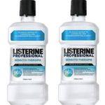4er Pack Listerine Professional Sensitiv-Therapie Mündspülung (je 500ml) für 14,89€