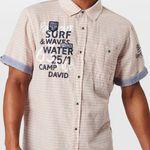 Camp David Herren Hemd in Orange oder Grün für je 29,67€ (statt 40€) – M, L, XXL