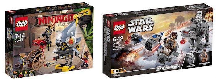 myToys: 3 Spielzeuge kaufen, nur 2 bezahlen   z.B. 3x Lego Star Wars Ski Speeder für 30,93€ (statt 37€)