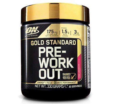 Vorbei! 330g Optimum Nutrition Gold Standard Pre Workout Pinke Limonade ab 12,71€ (statt 25€)
