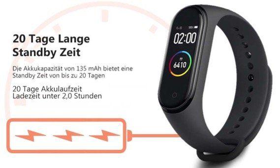 Ausverkauft! Nagelneues Xiaomi Mi Band 4 für 28,35€   oder mit NFC für 45,75€