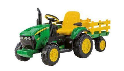 12V Traktor John Deere mit Anhänger für 259€ (statt 298€)