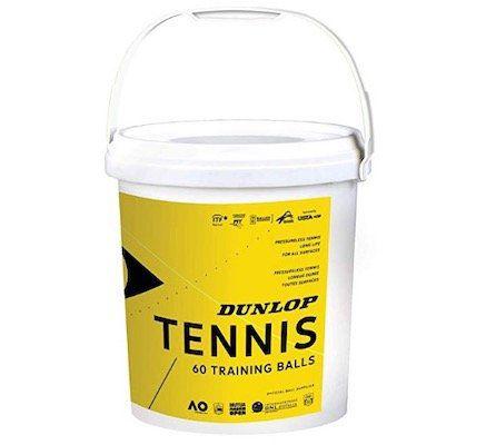 Vorbei! 60er Pack Dunlop Tennisbälle in Einheitsgröße ohne Aufdruck ab 23,30€ (statt 88€)