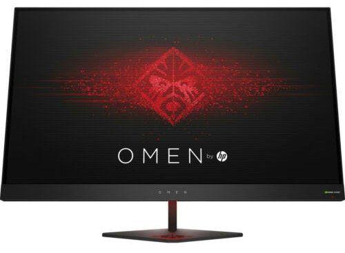 OMEN by HP 27   27 Zoll WQHD Monitor mit bis 165 Hz + G Sync für 377,10€ (statt 473€)