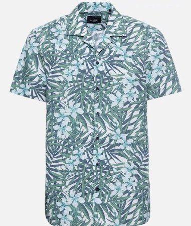 JOOP! Herren Hemd Hannes mit grünem Palmen/Blumen Motiv für 28,63€ (statt 80€?)