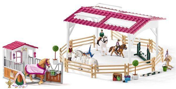 Schleich 72118 Reitschule mit Pferdebox für 39,99€ (statt 60€)
