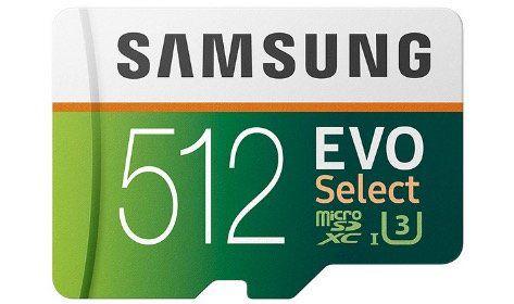 Samsung Evo Select microSDXC 512GB mit SD Adapter für 85,53€ (statt 130€)