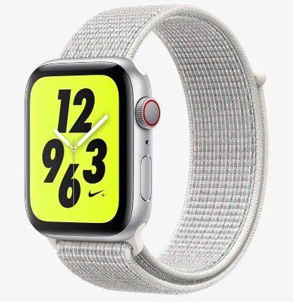 Ausverkauft! Apple Watch Series 4 Nike+ mit 44mm und Cellular für je 446,97€ (statt 510€)   open Box