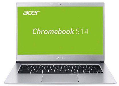 Acer Chromebook 514 (14 Full HD IPS matt, Aluminium Unibody) in Silber für 299€ (statt 455€)