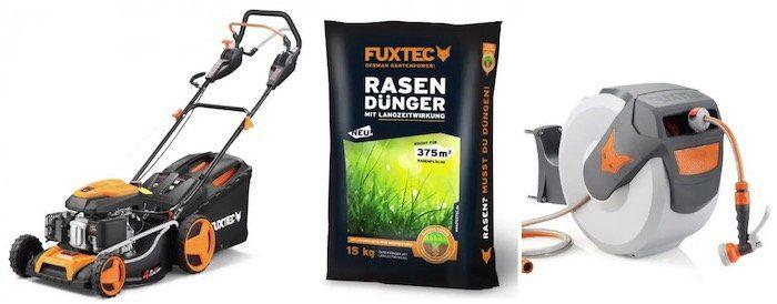 Fuxtec Rasen Produkte mit 20% Rabatt   z.B. FX WSA20 Schlauchaufroller für 71,20€ (statt 89€)