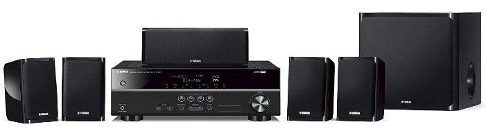 Yamaha YHT 1840 4K Receiver Bundle mit 5.1 System für 241,92€ (statt 332€)