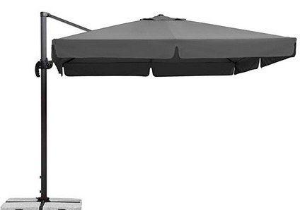 Schneider Sonnenschirm Rhodos in Anthrazit 300x300cm für 252,84€ (statt 339€)