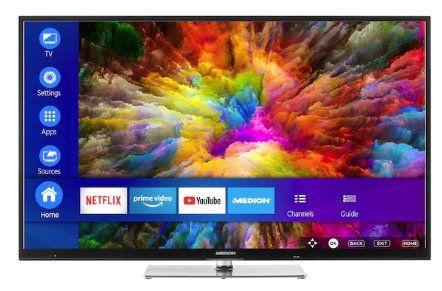 Medion Life X15504   55 Zoll UHD Fernseher für 389,95€(statt 480€)