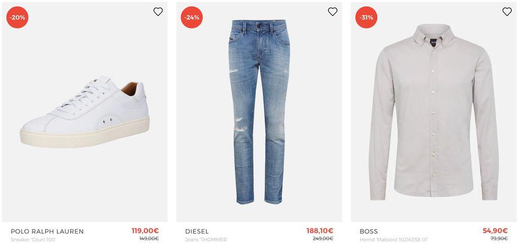 🔥 About You Premium Marken Sale   dazu bis zu 40% Zusatz Rabatt + 10% Gutschein