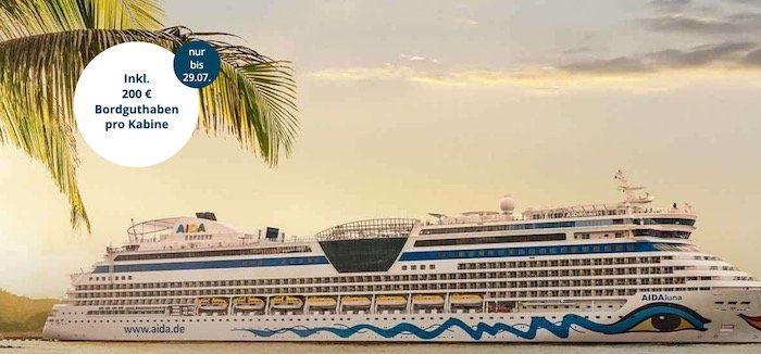 🚢 AIDA Fernweh Knaller: Karibik, Mauritius oder Südostasien ab 1.799€ inkl. Flüge und 200€ Guthaben