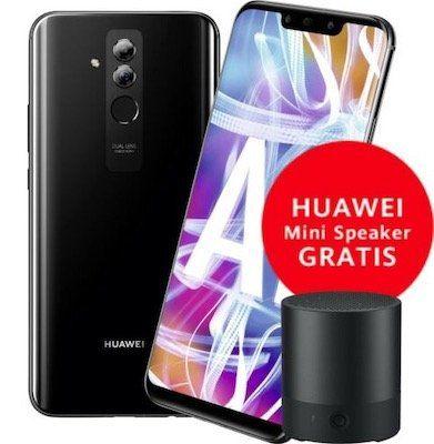 Huawei Mate 20 Lite 64GB + Mini Lautsprecher für 179,90€ (statt 216€)