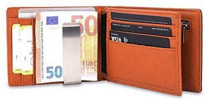Vemingo Herren Geldbeutel mit Geldklammer & RFID Blocker für 9,99€ (statt 20€)