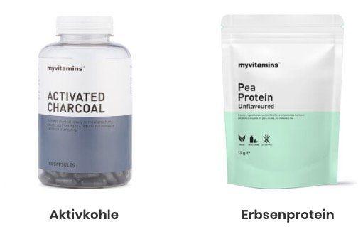 MyVitamins mit 57% Rabatt auf ausgewählte Produkte   z.B. 1kg Erbsenprotein für 4,85€