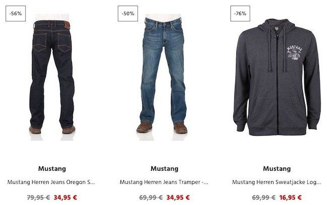 Jeans Direct mit Last Size Aktion   3 kaufen nur 2 bezahlen