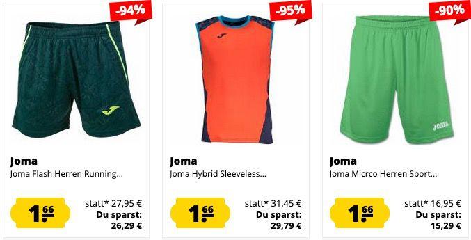 Knaller! 🔥 SportSpar Mega Sale mit vielen Produkten bis 95% reduziert ab 0,66€ + VSK (Umbro Shirt für 1,66€)
