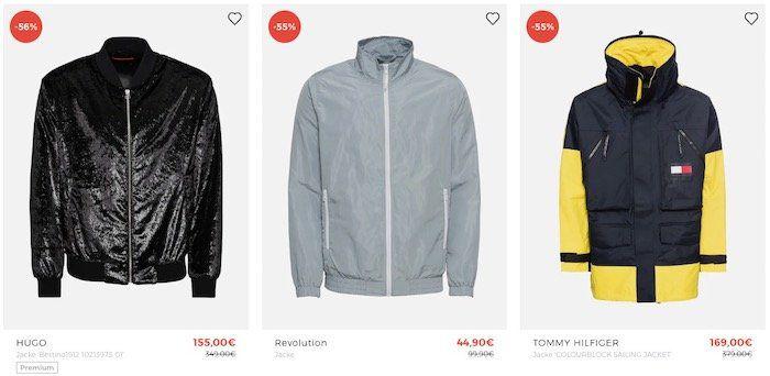 Nur bis Mitternacht: Jacken Sale bei About You bis 60% Rabatt + bis 30% Extra Rabatt