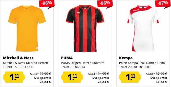 Knaller! 🔥 SportSpar Randgrößen Sale mit Artikeln ab je nur 1,11€ + VSK
