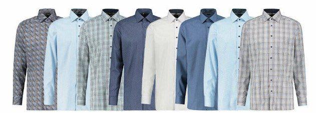 Olymp Herren Hemden in verschiedenen Farben für 29,90€(statt 45€)
