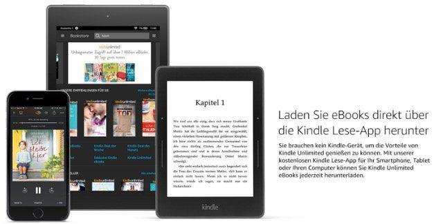 Kindle Unlimited 2 Monate gratis (statt 20€)   für Neukunden