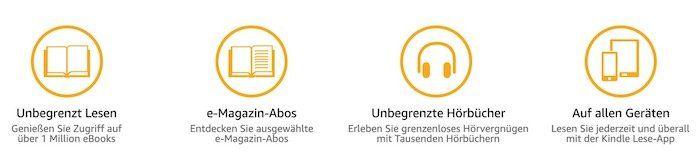 Kindle Unlimited 3 Monate gratis (statt 30€)   für Neukunden
