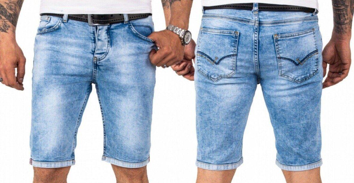 Rock Creek Denim Herren Jeans Shorts für je 25,90€