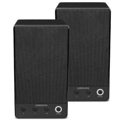 2er Pack Medion P61084 WLAN Multiroom Lautsprecher für 61,43€ (statt 132€)