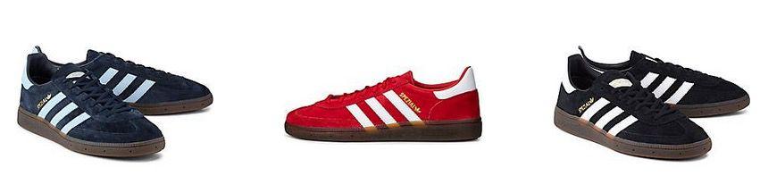 adidas Originals Handball Spezial Herren Wildleder Sneaker in Rot für 51,98€ (statt 88€)