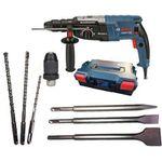 Ausverkauft! Bosch Bohrhammer GBH2-28F in L-BOXX + 3 Bohrer + 3 Meißel für 179,10€ (statt 205€)