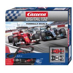 Carrera Digital 132 Formula Rivals Rennbahn für 148,88€ (statt 212€)   Direktrabatt im Warenkorb