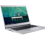 Acer Chromebook 514 (14″ Full-HD IPS matt, Aluminium Unibody) in Silber für 299€ (statt 455€)