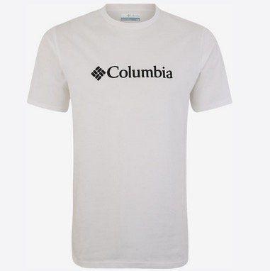 Columbia T Shirt in Weissvielen Größen für 14,37€ (statt 22€)