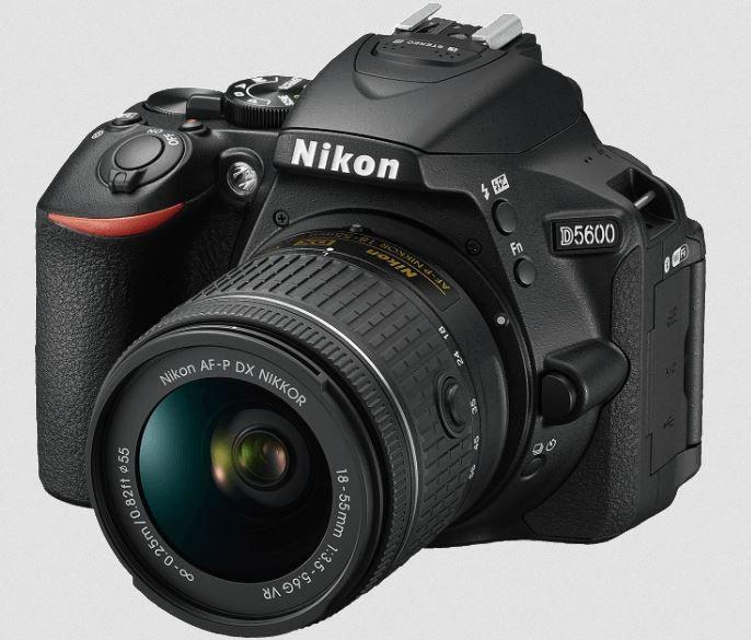 Nikon D5600 Kit   DSLR Kamera mit AF S 18 55 VR ab 444€ (statt 529€)