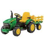 12V-Traktor John Deere mit Anhänger für 259€ (statt 298€)