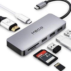 MECO ELEVERDE USB C Hub mit 7 Multifunktions Ports für 19,19€ (statt 32€)