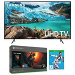 Samsung 55″ UltraHD Fernseher + Xbox One X 1TB + Tombraider + FIFA 19 ab 799,95€ (statt 1.033€)