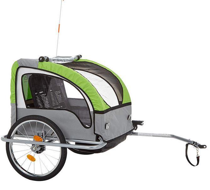 Pricedrop! Fischer Komfort Fahradanhänger für Kids & Co mit Federung für 129€ (statt 170€)