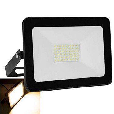 LED Flutlichtstrahler (50W 230V) Aluminium Wasserdicht IP65 für 12,59€ (statt 20€)